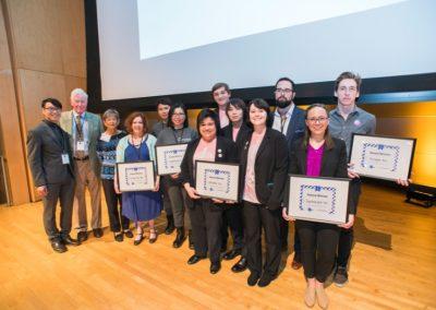 Carole with MICA Award Winners