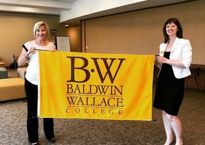 Center for Innovation & Growth at Baldwin Wallace University LK_KR with Ratcliffe Flag