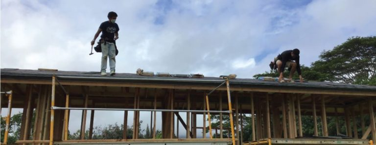 Kauai Community College builds tiny houses after winning 2019 Pitch for the Trades competition