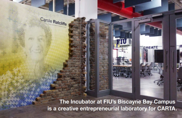 The incubator at FIU Biscayne Bay Campus