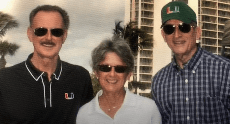 Carol Ratcliffe and Drs. Eismont and Brown