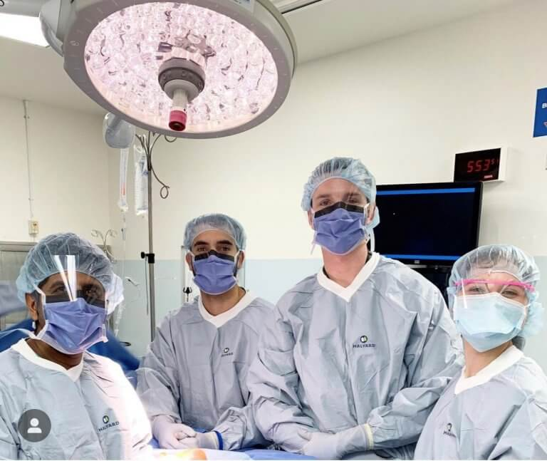 Dr. Aiyer and Residents